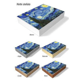 PHOTO AND ALBUM CASE BOX - THE STARRY NIGHT