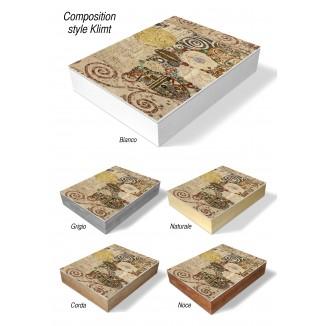 PHOTO AND ALBUM CASE BOX - COMPOSITION STYLE KLIMT