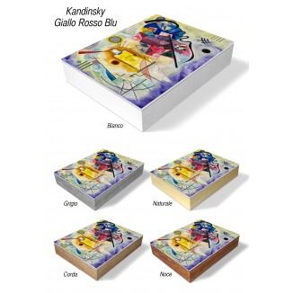 PHOTO AND ALBUM CASE BOX - KANDINSKY YELLOW RED BLUE