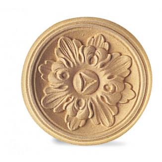 Fregi in pasta di legno modellabile