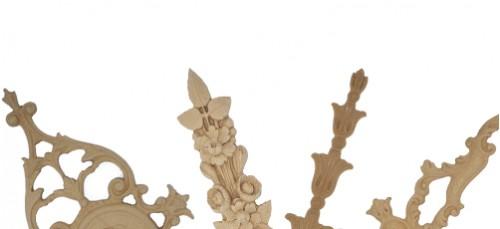 Wood pulp friezes